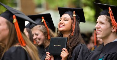 Graduates attend Kalamazoo College Commencement