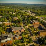 Aerial Shot of Hiram College Campus