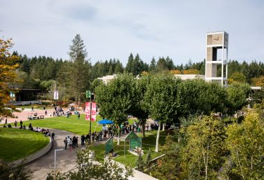 Evergreen's start-of-year Block Party