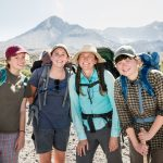 Freshwater ecology faculty Carri LeRoy takes a team of students to Mt. St. Helens' pumice plain