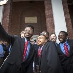 Wabash students take a selfie