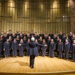 The Arts Choir performs at Knox