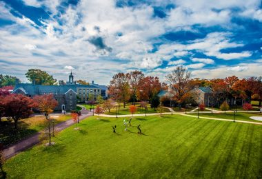 The Ursinus campus is beautiful on a fall day.
