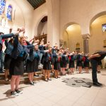 Saint Mary's choir performs