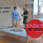 Students enjoy the Denison Art Space