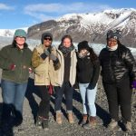 Agnes Scott students during Journeys Iceland 2018.
