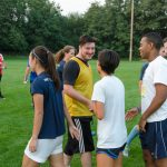 Whitman College students play intramural sports together