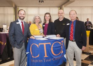 CTCL representatives meet at the Higher Education Consultants Association
