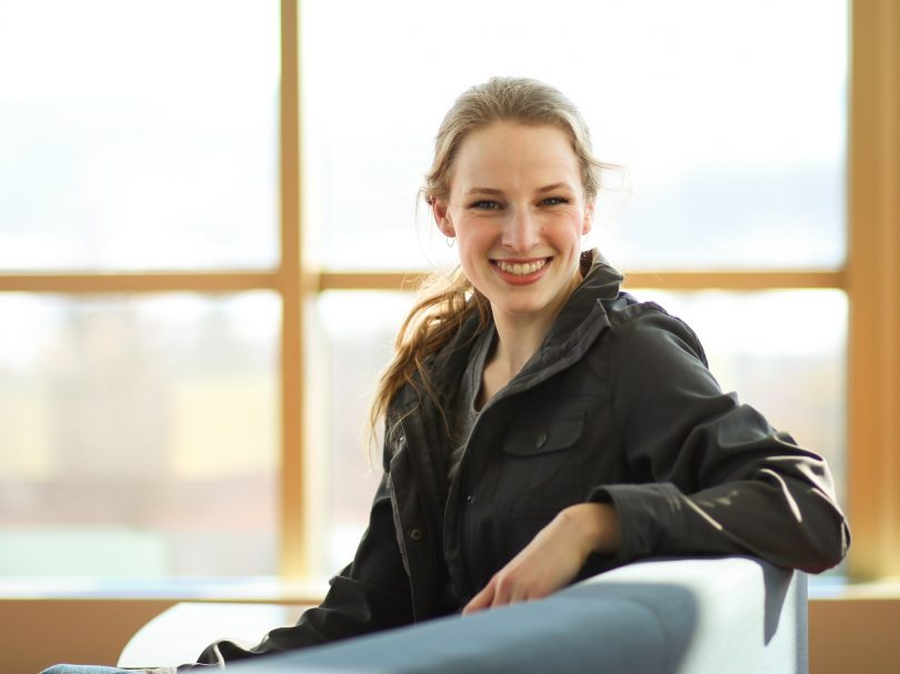 St. Olaf senior Freitag has had a global education at St. Olaf College.