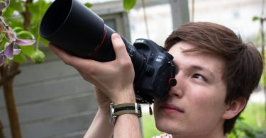 St. Olaf student takes photographs in nature.