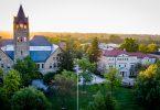Ohio Wesleyan's University Hall, Delaware OH