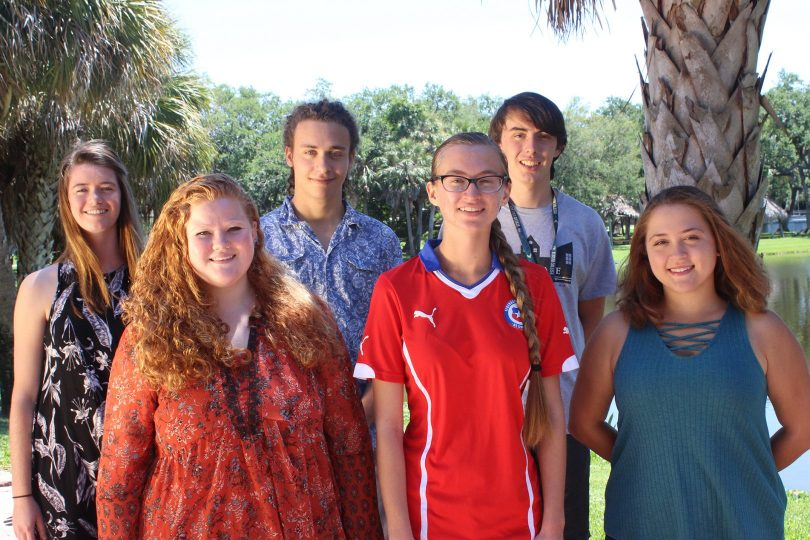 Eckerd's most recent HOAA Hollings Scholarship Winners