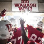 Wabash football players