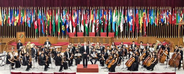 Wheaton College alum conducts the Indonesian National Orchestra