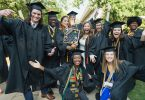 Birmingham Southern graduates celebrate