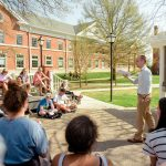 Students enjoyed a beautiful spring day on April 5, 2017.