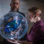 a professor teaches astrophysics